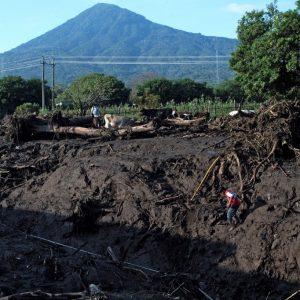 Deslave en Nejapa, El Salvador