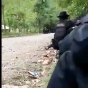 Enfrentamiento armado en El Estor, Izabal