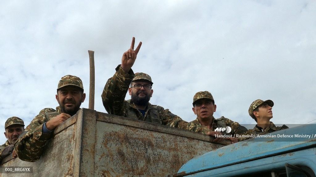 Combates en Nagorno Karabaj