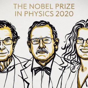 Roger Penrose, Reinhard Genzel y Andrea Ghez, ganadores del PremioNobelde Física