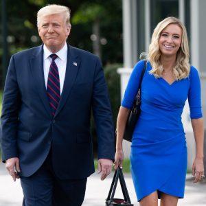 Kayleigh McEnany, secretaria de prensa del presidente Donald Trump
