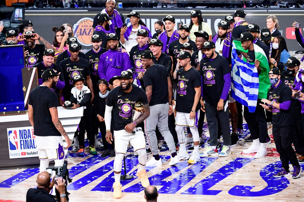 Lakers de Los Ángeles son campeones