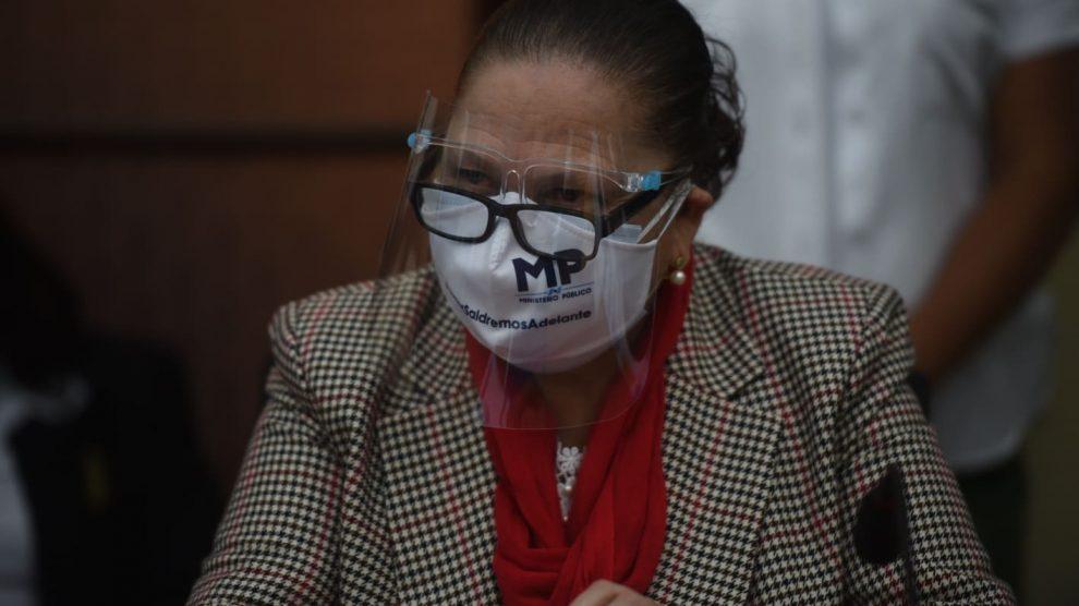 Fiscal general, María Consuelo Porras