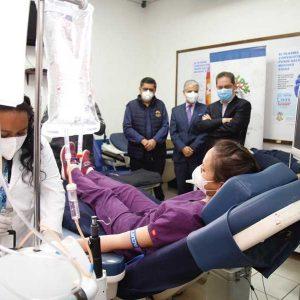 Módulo de donación de plasma convaleciente