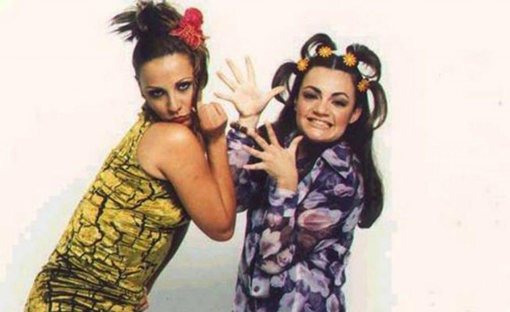 Consuelo Duval y Lorena de la Garza