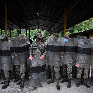Soldados del Ejército de Guatemala