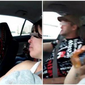 Se grabó tomando cerveza mientras conducía; chocó minutos después
