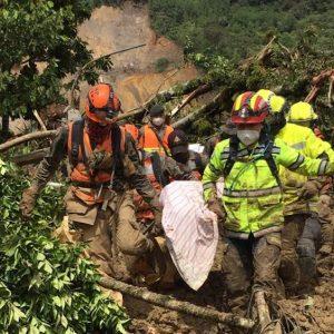 Localizan cinco víctimas mortales de Eta en el caserío Quejá.