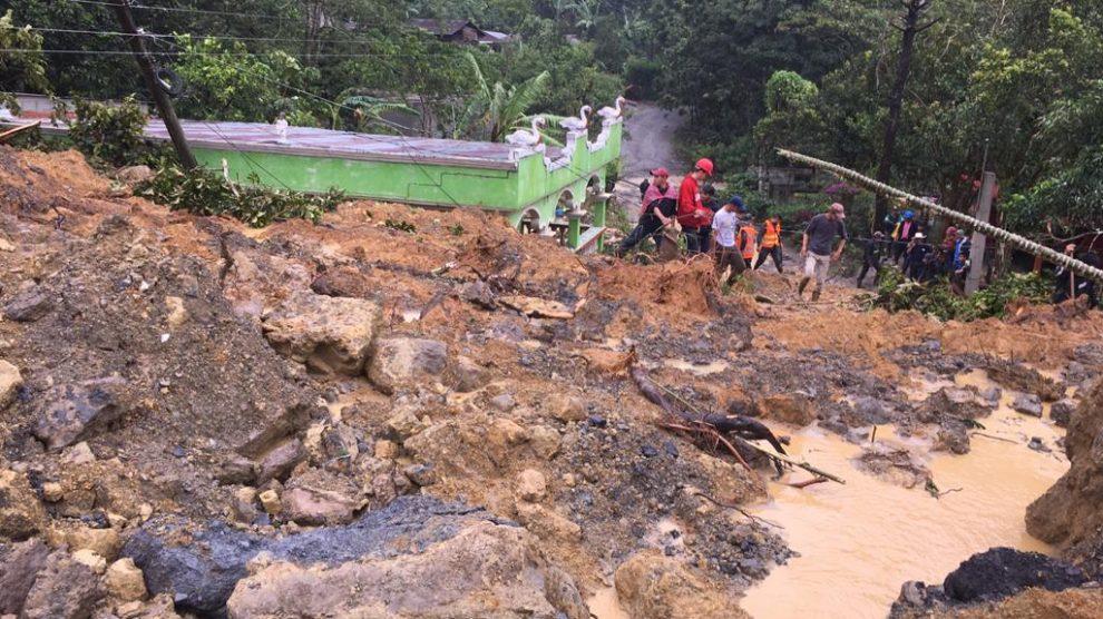 Tragedia en el caserío Quejá, en San Cristóbal Verapaz, en Alta Verapaz.