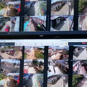 Centro de monitoreo en Mixco.