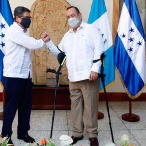 Presidentes de Hondura y Guatemala pedirán apoyo al BCIE por daños causados por Eta.