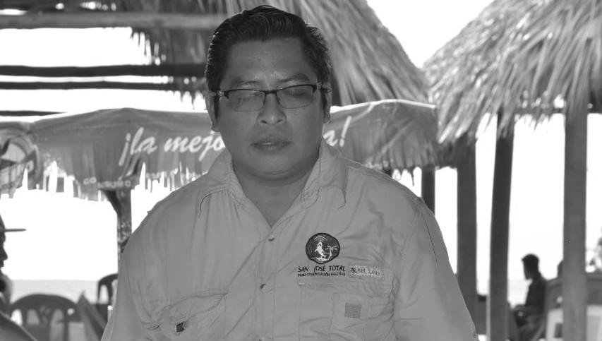 Mario Ortega, director de San José Total, de Escuintla.