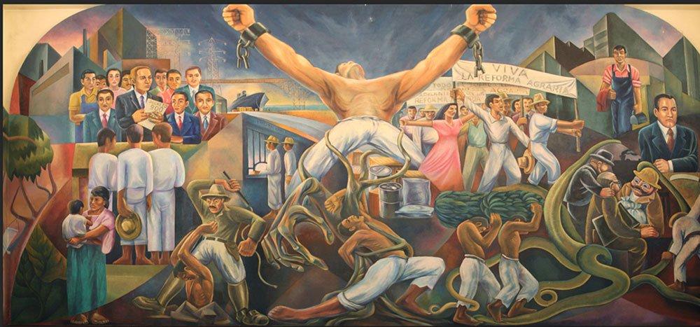 Salón del Pueblo del Congreso.
