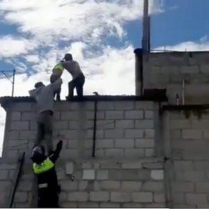 Venta de fuegos artificiales se incendiaba en Quetzaltenango.