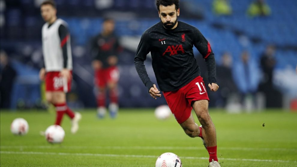 Mohamed Salah tiene COVID-19