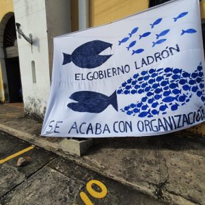 Piden la renuncia del presidente, Alejandro Giammattei, en la provincia.