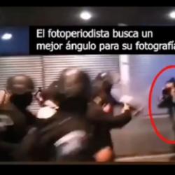 VIDEO. PDH muestra la brutalidad con la que la PNC golpea a periodista