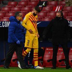 Barcelona confirma el alcance de las lesiones de Piqué y Sergi Roberto