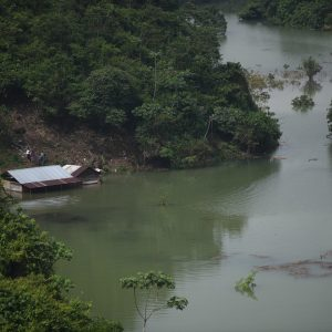 La lluvia causada por Eta dejó destrucción en varios departamentos.