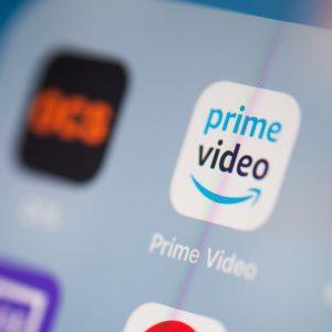 Amazon Prime Video en un smartphone