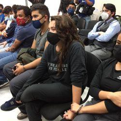 MP busca imputar cuatro delitos a detenidos durante la manifestación