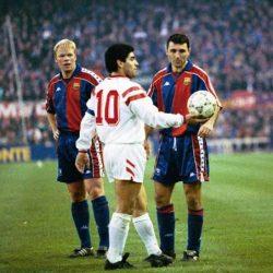 Ronald Koeman recuerda a Maradona previo a enfrentar al Osasuna