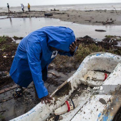Huracán Iota impacta Nicaragua