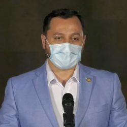 """VIDEO. Quema del Congreso y de Transurbano """"no son actos aislados"""", según ministro de Gobernación"""