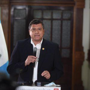 Guillermo Castillo, vicepresidente, habla de la designación de magistrados ante la CC.