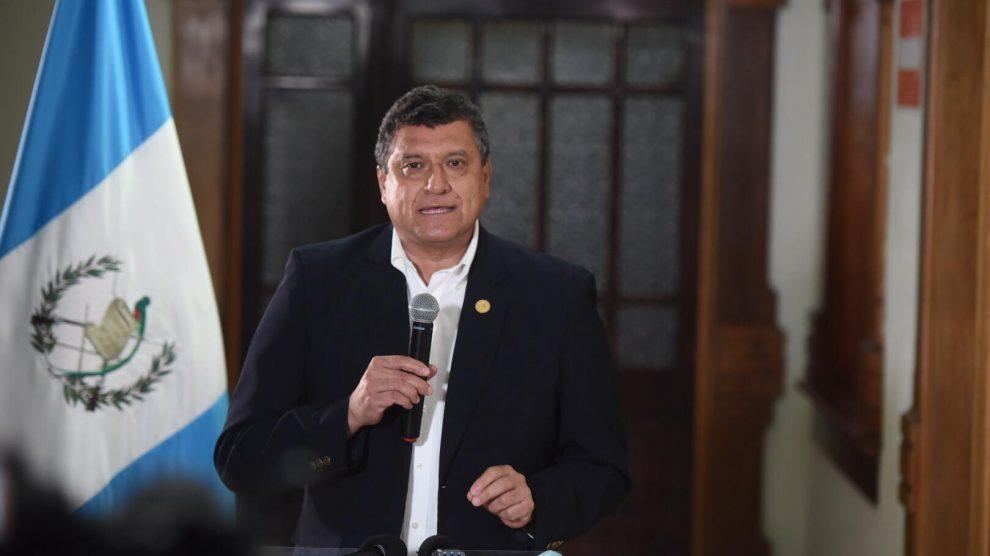 Guillermo Castillo, vicepresidente de Guatemala.