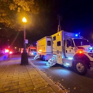 Ataque con un sable en Quebec, Canadá