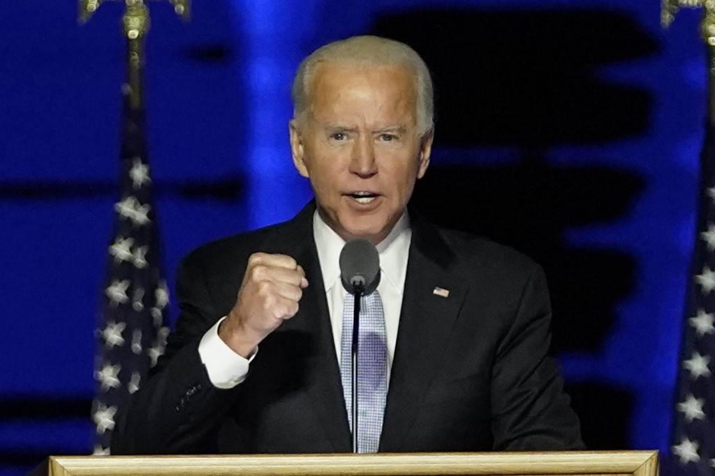 Joe Biden en Washington