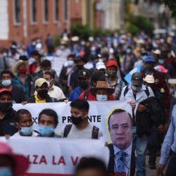 """Autoridades indígenas y ancestrales: """"Exigimos su renuncia, presidente"""""""