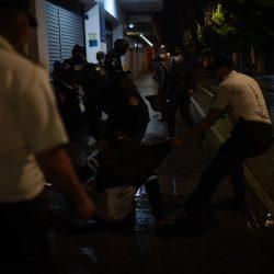 Jornada de manifestaciones ciudadanas termina con agresiones de la PNC