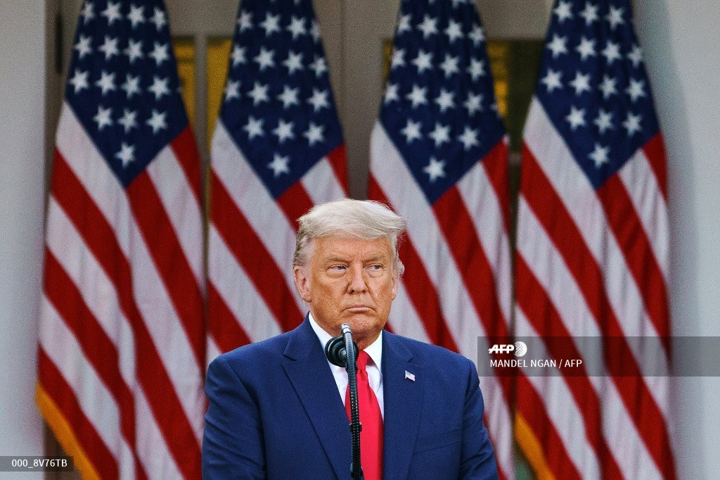 Donald Trump en Washington