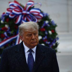 Donald Trump conmemora el Día de los Veteranos 2020