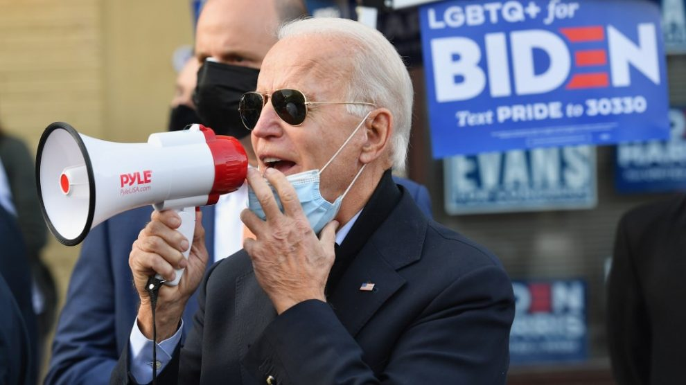 Joe Biden en Pensilvania