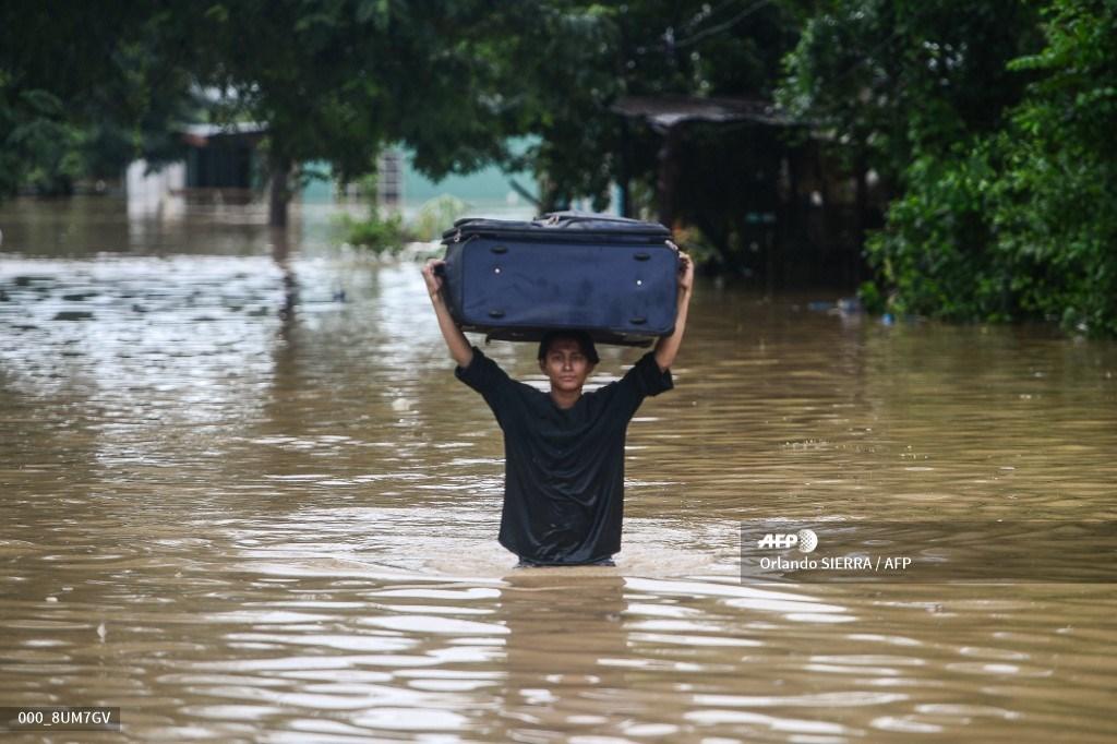 Inundaciones en Honduras por el huracán Eta