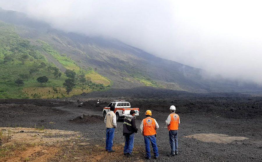 Conred verifica el volcán Pacaya