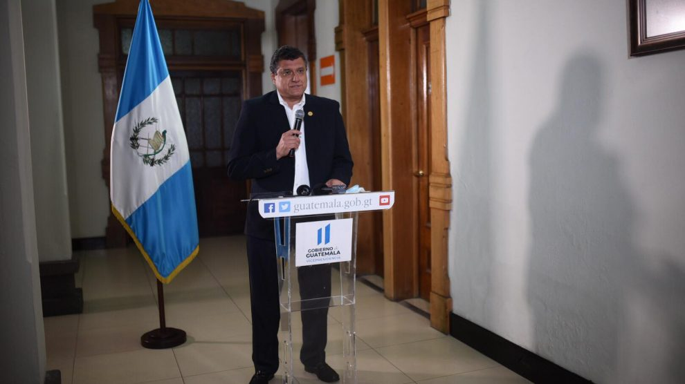 Guillermo Castillo, vicepresidente.