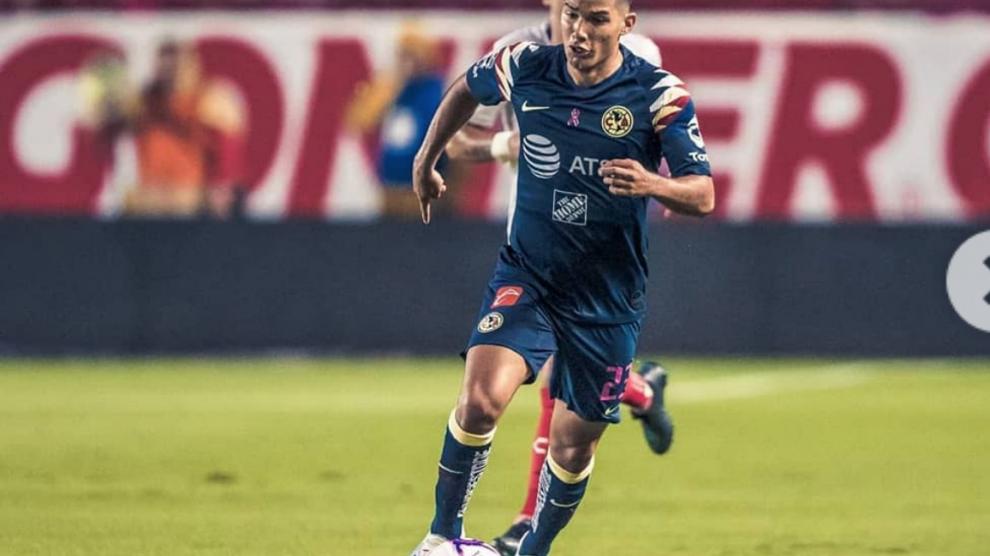 """Antonio """"Chucho"""" López juega con el América en la Concachampions"""
