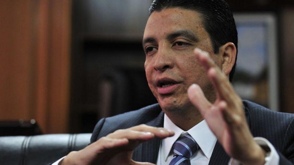 Erick Archila Dehesa, exministro de Energía y Minas.