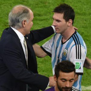 Mensaje de Messi por muerte de Alejandro Sabella