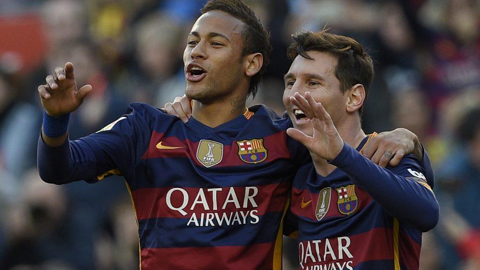 Neymar quiere volver a jugar con Messi