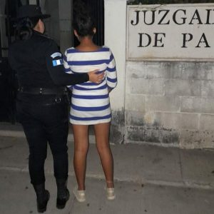Adolescente remitida en Jutiapa por señalamientos de ser secuestradora.