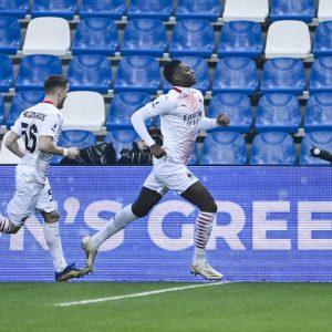 Rafael Leao marca el gol más rápido de la Serie A