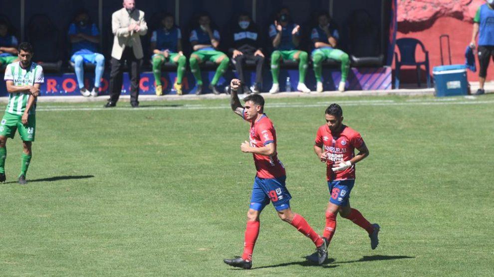 Ramiro Rocca máximo goleador del Torneo Apertura 2020