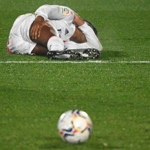 Rodrygo sufre una lesión muscular