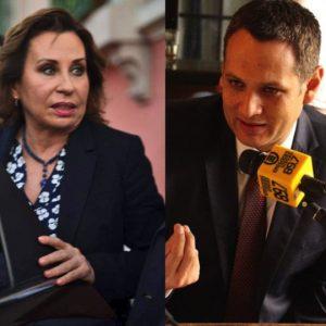 Sandra-Torres-Óscar-Argueta-UNE
