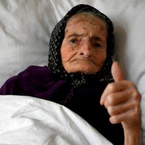 Margareta Kranjcec, abuelita de 99 años supera el Covid-19